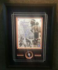 Walter Payton Chicago Bears 8x10 Framed Commemorative w-Replica Ring