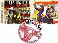 """Manu CHAO """"Bongo Bong"""" (CD Maxi) 2000 4 titres"""
