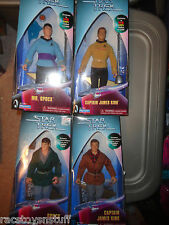 "STAR TREK EXCLUSIVE 9"" KIRK & SPOCK- BOTH AMOK TIME & CITY ON EDGE OF FOREVER"