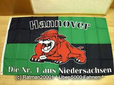 Bandiere BANDIERA Hannover Bulldog fan - 90 x150 cm