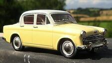 Lansdowne Models 1956 Hillman Minx Series I Yellow/Grey