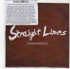 (DL383) Straight Lines, Commitments - 2012 DJ CD