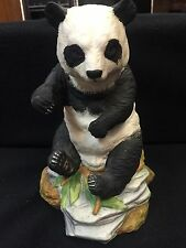 Panda Andrea By Sadek Vintage Hand Painted & Decorated Very Detailed