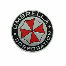 New Metal 3D Resident Evil Umbrella Corporation car Badge Emblem Car sticker