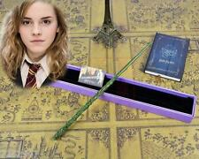 new Harry Potter Hogwarts Hermione Granger Magic Wand in Box Cosplay Use Gift