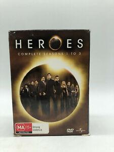 HEROES - Complete Seasons 1 to 3 - DVD - Free Post