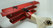 Model Airplane Aircraft Military Fighter Built 1 Vintage WW1 32 Carousel Red 48