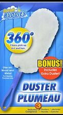 3~Scrub Buddies 360-Degree Microfiber Dusters, each packs