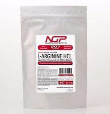 L-ARGININE Powder 2lb (32oz) -100% Pure -HCL KOSHER - Muscle Cardio - Sex -NGP