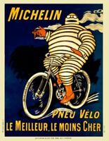 "Michelin Poster vintage bicycle art Tour De France (1178) 24"" x 36"""