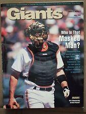 1993 Giants Magazine - Kirt Manwaring w/Centerfold