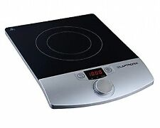 Laptronix Single Digital Induction Hob Portable Electric Cooker 2000w LED Screen