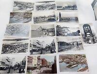 .NEW ZEALAND. c1940s AUCKLAND REAL PHOTO POSTCARDS / TOURIST / SOUVENIR CARDS