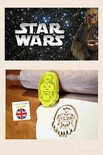 Chewbacca Star Wars Uk SELLER Biscuit Cookie Cutter Fondant Cake Decorating