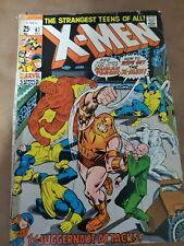 The Uncanny X-Men # 67 Marvel Comic Book Bronze Age Dec 1971 Juggernaut