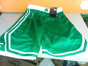 Nike Dri-fit NBA Boston Celtics Shorts YOUTH Boy's Size Medium M With White Logo