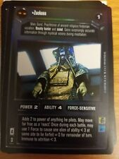 Star Wars CCG Reflections Zuckuss FOIL NrMint-Mint