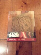 Star Wars Chewbacca Can Cooler Holder New Rare Disney VII Keep Cold