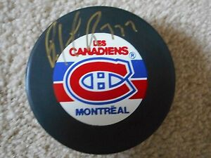 NHL HALL OF FAMER  PATRICK ROY MONTREAL CANADIENS AUTOGRAPHED PUCK W/COA GOLD