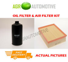 DIESEL SERVICE KIT OIL AIR FILTER FOR AUDI A6 1.9 110 BHP 1997-01