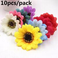 Wreath Real Touch Gerbera. Seide Sonnenblumenköpfe Fake Flores Künstliche Blume
