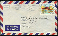 Lebanon 1968 Commercial Airmail Cover To UK #C42785