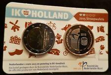 Holland coin fair coincard 2015 Stroopwafels