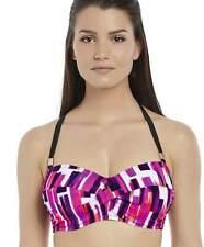 Fantasie Casablanca Padded Bandeau Bikini Top 6398 Size 32E Mixed Berries SALE
