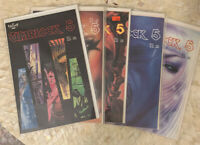 WARLOCK 5 Issues 1-5 Comic LOT | Aircel