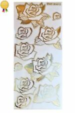 Gold Metal Stickers Scrapbooking Embellishments