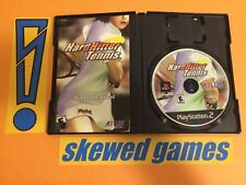 Hard Hitter Tennis - PS2 PlayStation 2 Sony COMPLETE