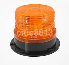 Car Bus Beacon Strobe Emergency Warning Alarm LED Flash Light Amber DC12V/60V
