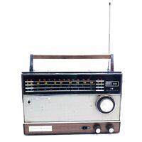 Needs Repair Vintage Transistor Radio Longines Symphonette 4597B World Traveler