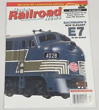 Model Railroad News Magazine Back Issue Volume 23 Issue 3 March 2017