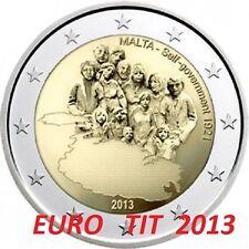 2 €  MALTE    2013   COMMEMORATIVE       380 000  EXEMPLAIRES     DISPONIBLE