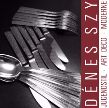 SIX place silver cutlery set CHAMPAGNE pattern by Jens H. Quistgaard IHQ 1947