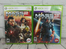 Mass Effect 2 & 3 (Microsoft Xbox 360) Video Game Lot Complete