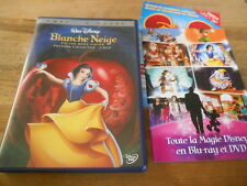 DVD FILM Walt Disney : Schneewittchen Blanche Neige 2 Disc (FSK 0_79min) DISNEY