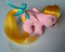 G1 My Little Pony Newborn Twin Pegasus  NIBBLES  Vintage MLP 1980's