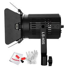 Pergear LS-40S 3200-5600K Photography Studio Spotlight w/ Barn Door +Controller