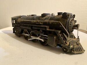 Lionel Prewar O Gauge 225E Gray Steam Locomotive