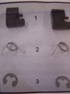 WHITE Plastic Pawl Repair Kit for Fan on Troy Bilt  Trimmers TB625EC TB685EC