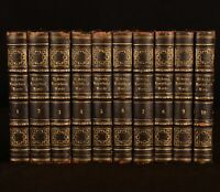 1851 10vol Household Words Conducted by Charles Dickens Copyright Edition