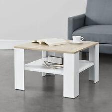 Couchtisch Weiß/Eiche-Optik Tisch Beistelltisch Wohnzimmertisch Sofatisch Möbel