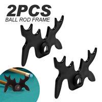 2X Pool Billard Cue Rest Stick 9 Spider Slip-On Racks Bat Bridge Head Snooker