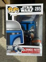 Jango Fett 285 Star Wars Funko Pop Vinyl New in Mint Box + Protector