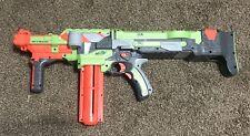 Nerf Vortex Green Nitron Automatic Motorized Disc Gun  W/ Clip Fully Tested