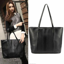 Unbranded Leather Outer Clasp Totes
