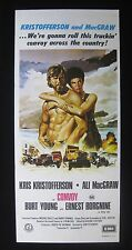 CONVOY 1978 Orig Australian daybill movie poster Kristofferson Truckers Kenworth