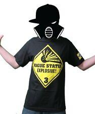 Rogue Status Explosive Black Men's T-Shirt Size: S
